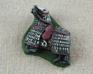 DD16 Medieval Armoured Horse